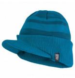 Jack Wolfskin Muts kids stormlock windmill cap dark turquoise (s)