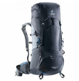 Deuter Backpack aircontact lite 50 + 10 black graphite