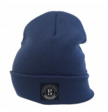 Poederbaas Muts urban blue