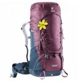 Deuter Backpack aircontact 50 + 10 sl blackberry navy