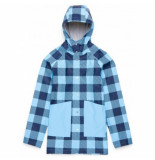 Herschel Jas supply co. women's rainwear classic peacoat gingham alaskan blue-xs