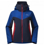 Bergans Jas women oppdal ins dark royal blue navy fire red-s