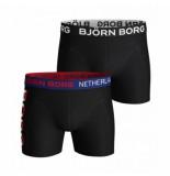 Björn Borg Boxershort björn borg men core holland sammy black beauty (2 pack)-s
