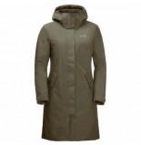 Jack Wolfskin Jas women cold bay coat w granite-s