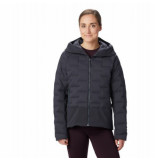 Mountain Hardwear Jas women super/ds climb hoody dark storm-s