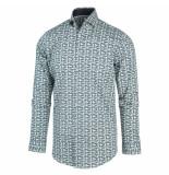 Blue Industry 2163.22 overhemd green -