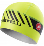 Castelli Helmmuts arrivo 3 thermo skully yellow fluo