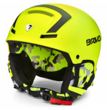 Briko Skihelm faito y016 yellow fl black-59 -