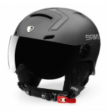 Briko Skihelm stromboli visor photo mt sh smoke grey-59 -