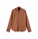 Scotch & Soda 158434 0217 regular fit classic check shirt -