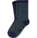 King Louie 2 pack socks globe streeple blue