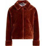King Louie Heather jacket zoot brunette brown