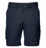 Jack Wolfskin Korte broek canyon cargo shorts night blue-maat 50