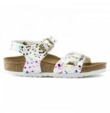 Birkenstock Sandaal girls rio confetti white narrow-schoenmaat 24