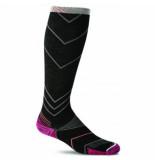 Sockwell Compressiekousen w's incline knee high sw8w black-schoenmaat 39 43