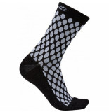 Castelli Fietssok women sfida 13 sock white black-schoenmaat 39 41