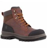 Carhartt Veiligheidsschoen men detroit 6 inch s3 work boot dark brown-schoenmaat 45