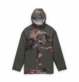 Herschel Jas supply co. men's rainwear classic woodland camo dark olive-s