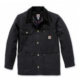 Carhartt Jas men firm duck chore coat black-m
