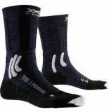 X-Socks Wandelsok men trek x merino blue white-schoenmaat 39 41
