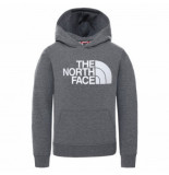 The North Face Trui boys drew peak p/o hoodie tnf medium grey heather-l
