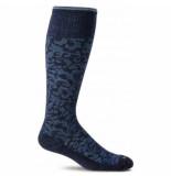 Sockwell Compressiekousen damask sw16w navy dames-schoenmaat 39 43