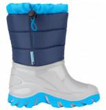Winter-Grip Snowboot junior welly walker marine grijs-schoenmaat 28 29