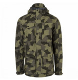 AGU Regenjas men urban outdoor pocket 2.5l camo print-l