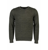 Emporio Armani Wool blend sweater with ruched-effect knit