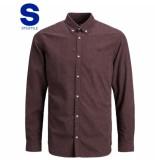 Jack & Jones 12175376 overhemd regular fit vineyard wine jack and jones