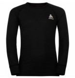 Odlo Ondershirt kids active warm eco crew neck l/s black-maat