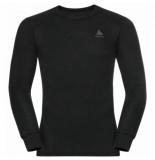 Odlo Ondershirt men active warm eco ls black-s