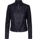 Sisters Point Duna ja pu fake leather jacket