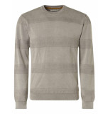 No Excess Pullover crewneck stone washed stone