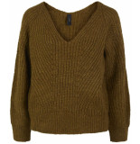 Y.A.S Bravo ls v-neck knit pullover