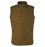 No Excess Bodywarmer padded moss