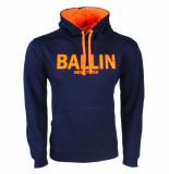 Ballin Est. 2013 heren trui capuchon sweat / oranje