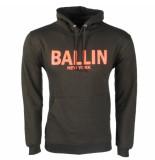 Ballin New York heren hoodie sweat / oranje