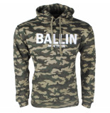 Ballin New York heren trui hoodie sweat army print