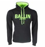Ballin Est. 2013 heren trui capuchon sweat neon
