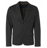 No Excess Blazer sweat check black