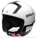 Briko Skihelm vulcano fis 6.8 shiny white black-