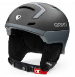 Briko Skihelm stromboli smoke cloud grey-56 -