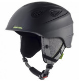 Alpina Skihelm women grap 2.0 charcoal neon matt-57 -