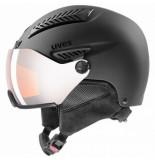 UVEX Skihelm hlmt 600 visor black mat-57 -