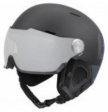 Bolle Skihelm bollé might visor premium matte black grey photo-55 -