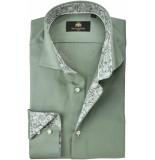 Circle of Gentlemen Overhemd deven paisley contrast slim fit