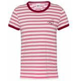 Tommy Hilfiger T-shirt logo stripe ringer