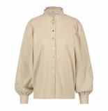 Penn & Ink Penn & ink | blouse w20w280 almond