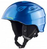 Alpina Skihelm grap 2.0 junior blue neon yellow matt-54 -